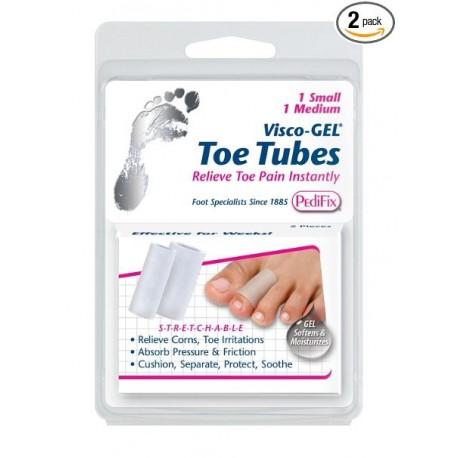 Pedifix Visco-gel All-gel Toe/finger Tubes - Mixed, 2-Count