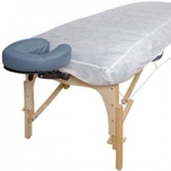 Massage table cover - non woven fitted w/10